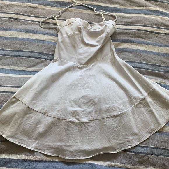 Express Dresses & Skirts - White strapless dress